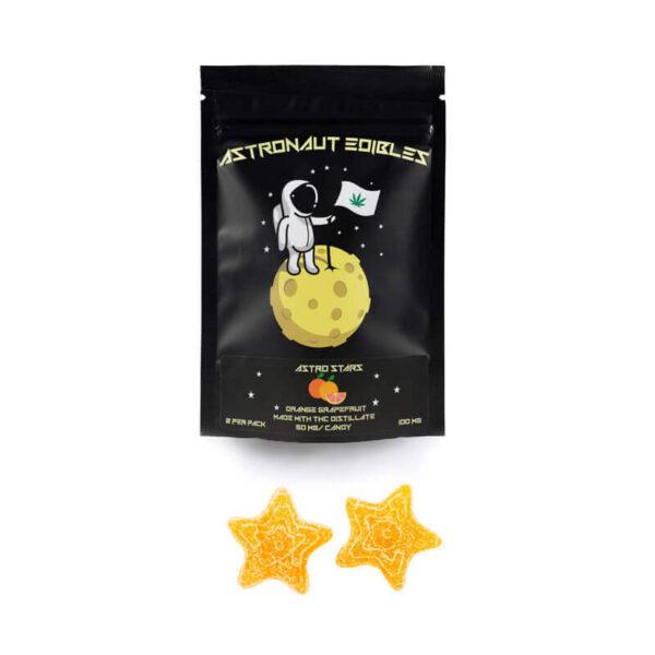 Astronaut Gummy-Stars Orange Grapefruit