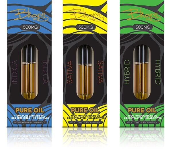 Bhang Cannabis oil Vape Cartridges
