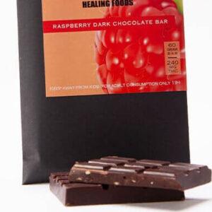 Raspberry Dark-Chocolate 240mg THC