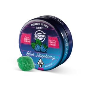Moxie Blue Raspberry Gummies
