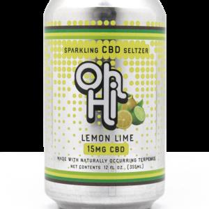 Oh Hi CBD Seltzer Lemon Lime