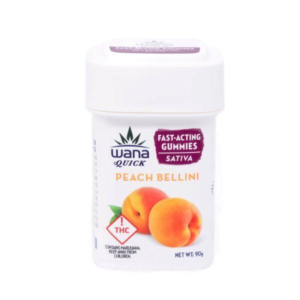 Wana Peach Bellini Sativa Gummies