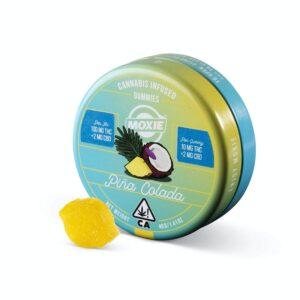 Moxie Pina Colada Gummies 100mgvv