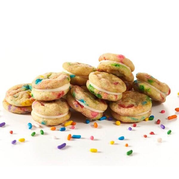 Birthday Baked Sandwich Cookies
