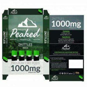 Peaked CBD Pods 1000MG UK
